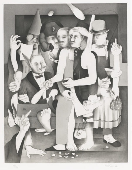 Richard Hamilton-The Transmogrifications Of Bloom (L. 143)-1985