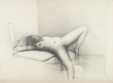 Reg Butler-Nude Study-1973