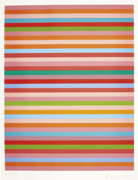 Bridget Riley-Rose Rose (S. 79)-2011