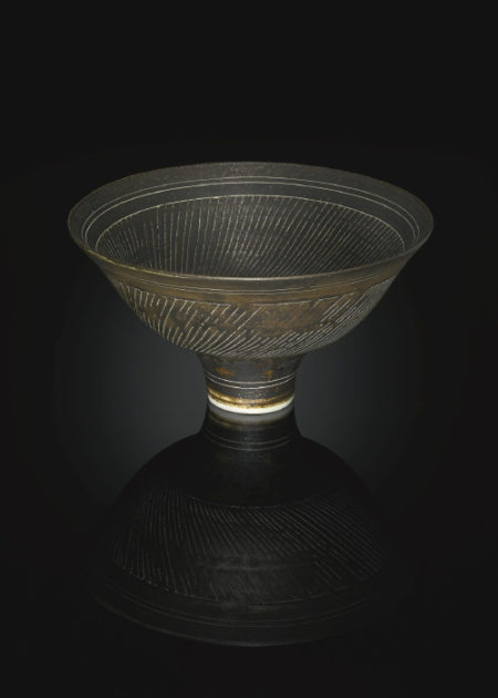 Lucie Rie-A Restored Sgraffito Bowl-