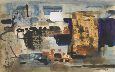 John Piper-Pointe Du Chateau, Brittany-1961