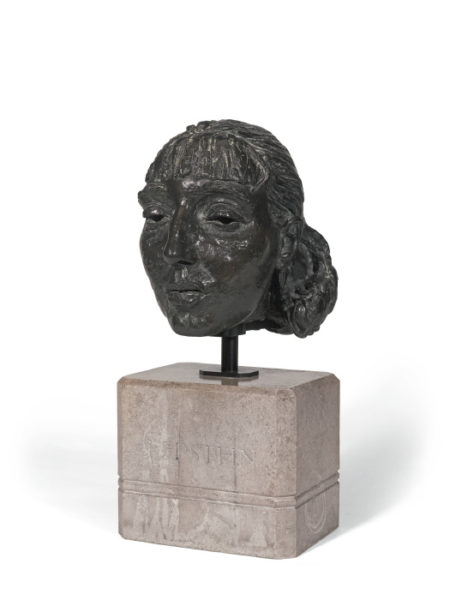 Jacob Epstein-Fourth Portrait Of Dolores (Head)-1923