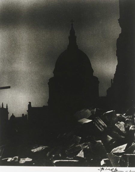 Bill Brandt-St Paul's Cathedral In Moonlight-1942