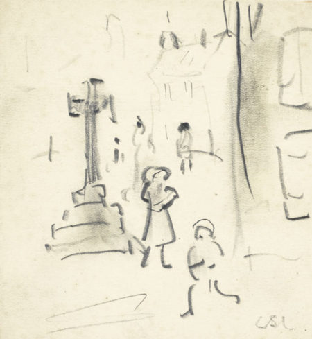 Laurence Stephen Lowry-The Memorial-