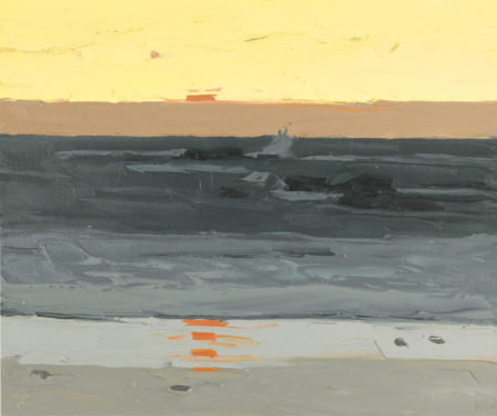 Kyffin Williams-Evening, Tre-Arddur-