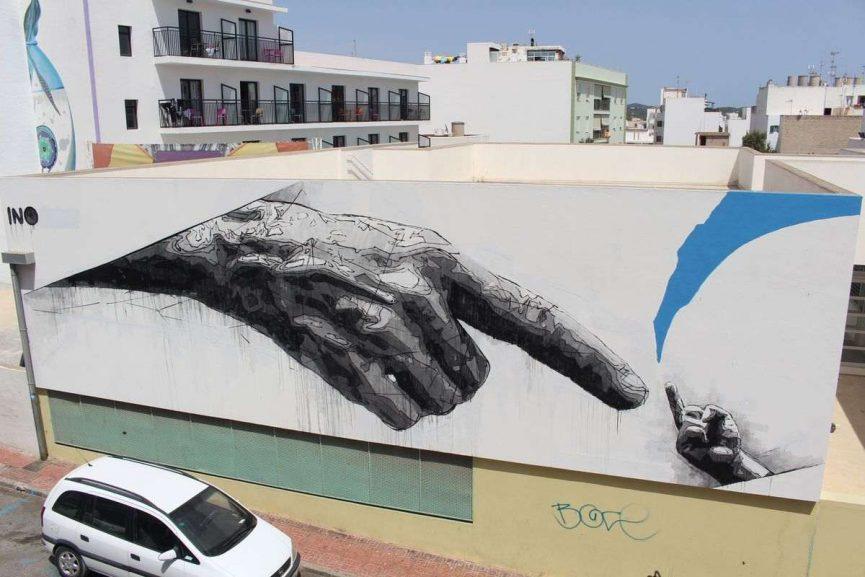 2016 NO FEAR INO censored wall