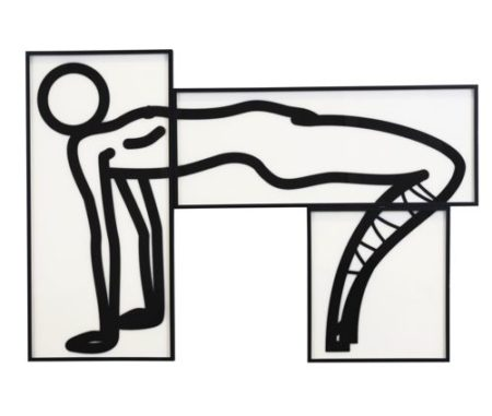Julian Opie-This Is Shahnoza In 3 Parts. 3 (C. 129)-2008