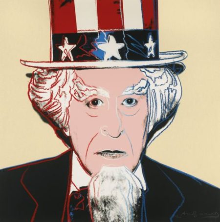 Andy Warhol-Uncle Sam (F. & S. II.259)-1981
