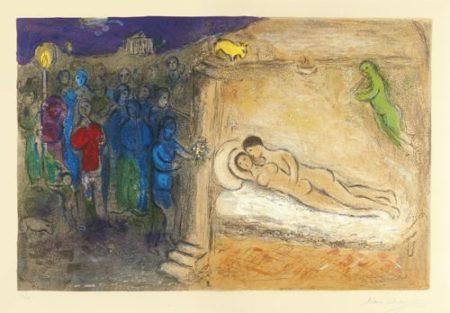Marc Chagall-Hymen (Mourlot 349; Cramer Books 46)-1961