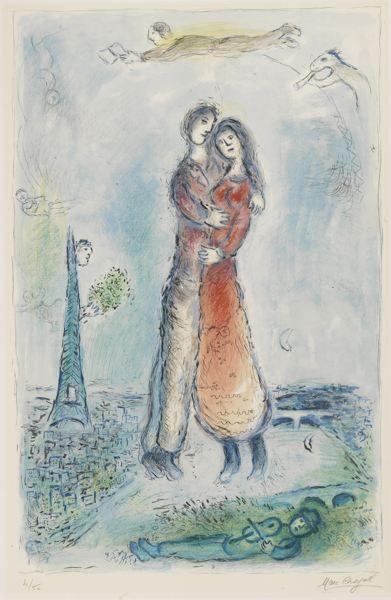 Marc Chagall-Joy (M. 976)-1980