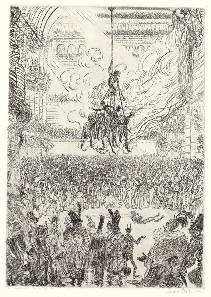 James Ensor-Hop-Frog's Revenge (Taevernier 112)-1898
