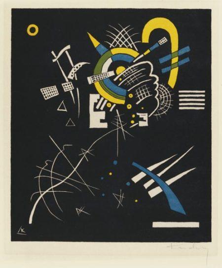 Wassily Kandinsky-Kleine Welten VII (R. 170)-1922