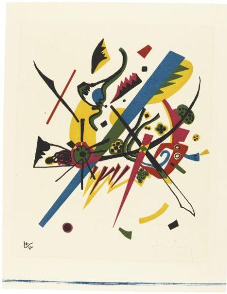 Wassily Kandinsky-Kleine Welten I (R. 164)-1922