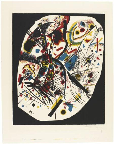 Wassily Kandinsky-Kleine Welten III (R. 166)-1922