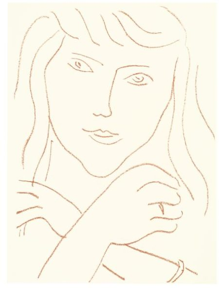 Henri Matisse-Visages (Duthuit Books 11)-1946