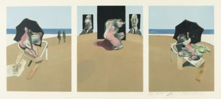 Francis Bacon-Triptych (Sabatier 4)-1981