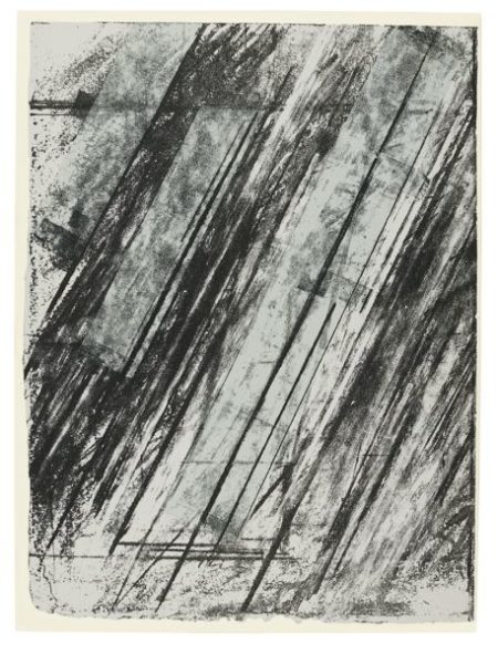 Roy Lichtenstein-Cy Twombly-Roy Lichtenstein, Cy Twombly - Finger Pointing (C. 126); Untitled (Bastian 38)-1973