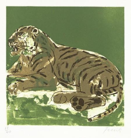 Elisabeth Frink-Tiger-1985