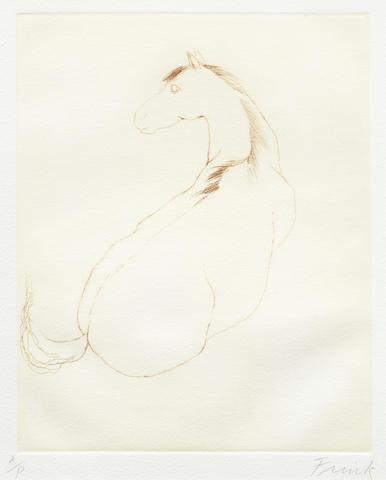 Elisabeth Frink-Horse-1972