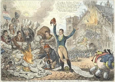 James Gillray-True Reform of Parliament-1809