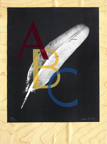 Man Ray-Alphabet Pour Adultes-1970
