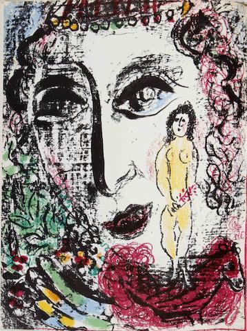 Marc Chagall-Lithographe I-V vol.-1984