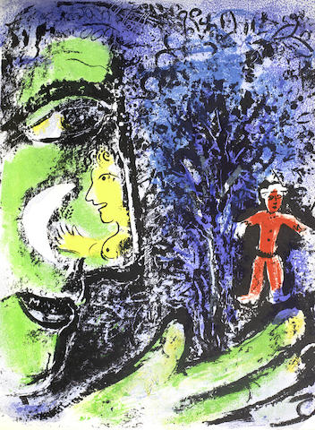 Chagall Lithographe I-1960