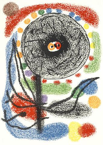 Joan Miro-Le Lezard-1971