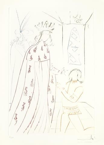 Salvador Dali-La Quete du Graal-1975