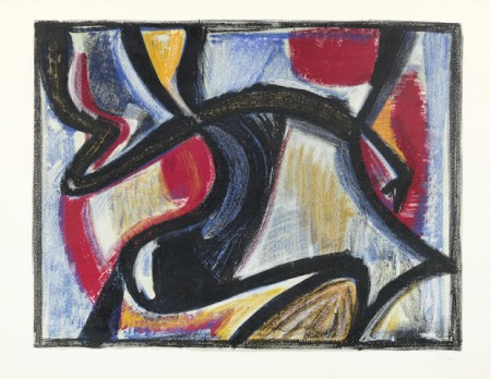 Jean-Michel Atlan-Les Hesperides-1957