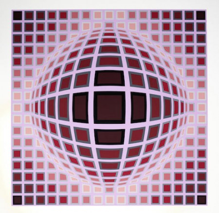 Victor Vasarely-Louisiana I & II-1983