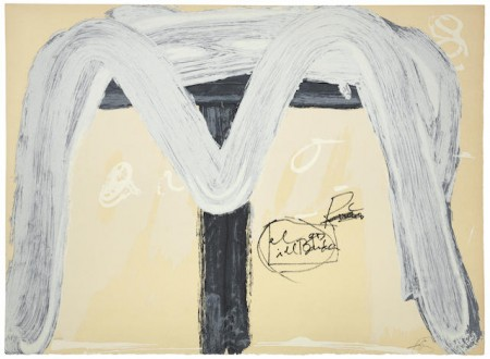 Antoni Tapies-Two Plates from the Berliner Suite-1974