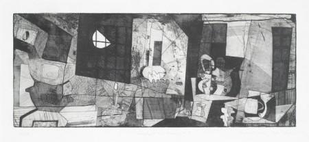 Bryan Ingham-Lamplight and Moonlight II-1988