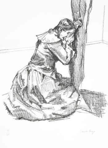 Paula Rego-Crying, from Jane Eyre - Poetry and Story-2001
