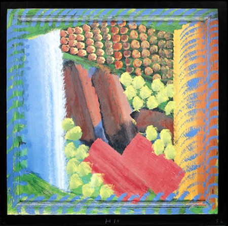 Howard Hodgkin-Red Bermudas-1982