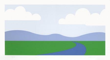 Julian Opie-Landscape-1995