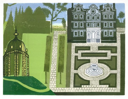 Edward Bawden-The Queen's Garden-1983