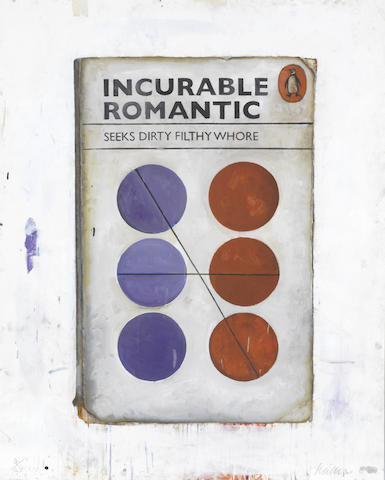Harland Miller-Incurable Romantic Seeks Dirty Filthy Whore-2011