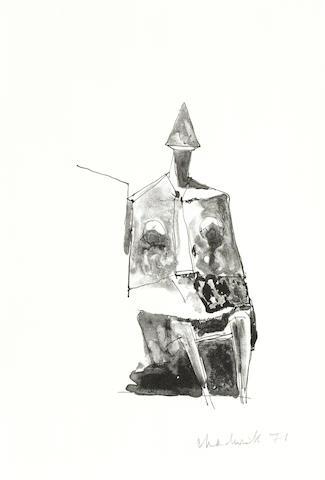 Lynn Chadwick-Seated Figure-1971