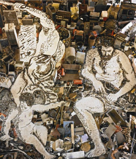 Vik Muniz-Vulcan Forges Cupid's Arrows, After Alessandro Tiarini (From Pictures Of Junk)-2006