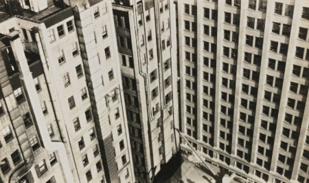 Walker Evans-New York City, Skyscrapers, Abstract Detail-1929