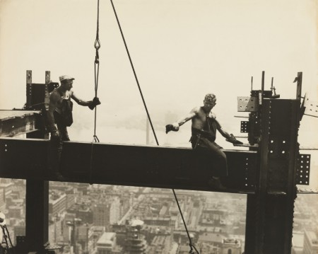 Lewis Wickes Hine-Two Workers On A Girder, Empire State Building-1930