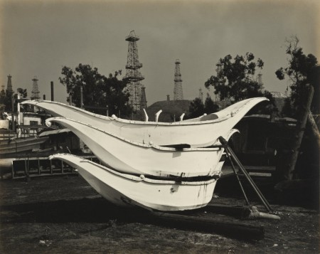 Edward Weston-Stacked Boats-1939