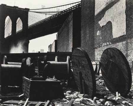 Brett Weston-Brooklyn Bridge-1944