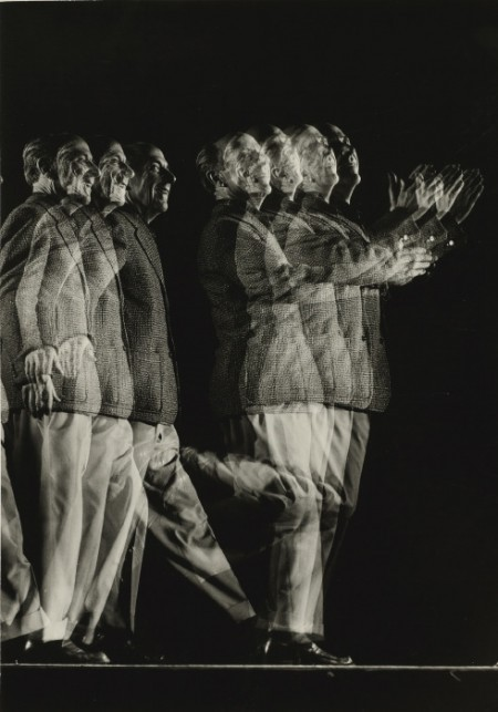 Gjon Mili-Edward Weston (Stroboscopic Portrait)-1946
