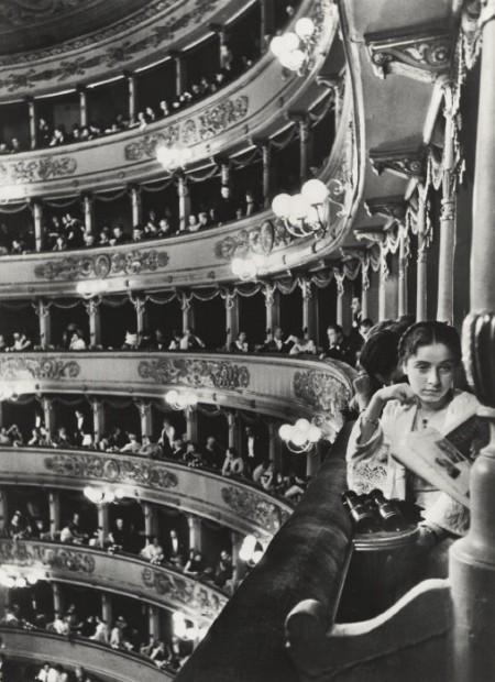 Alfred Eisenstaedt-Premier At La Scala, Milan-1933