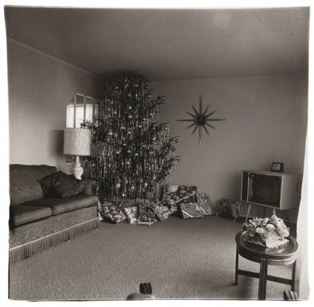 Diane Arbus-Xmas Tree In A Living Room In Levittown Li-1963