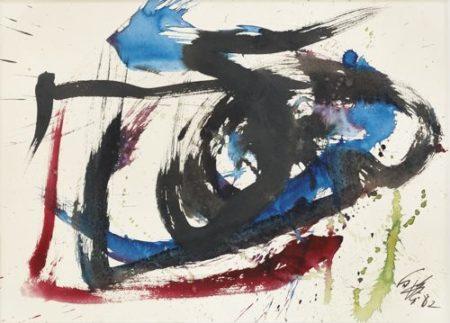 Kazuo Shiraga-Work-1982