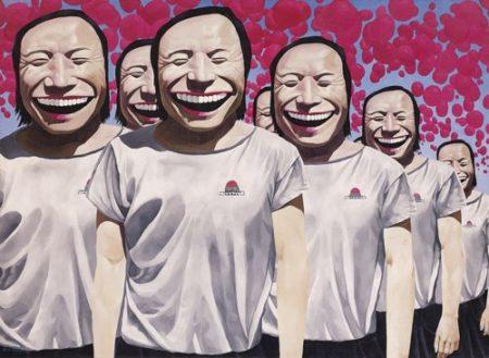 Yue Minjun-Happiness-1993