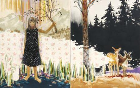 Ozawa Sakae-Vega (Diptych)-2008